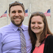 Justin Lingenfelter and wife Kelsey